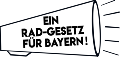 Logo der Aktion Ein Rad-Gesetz für Bayern!