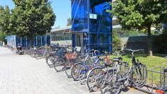 Bike+Ride U-Bahnhof Kieferngarten, ADFC Bayern, Traudl Schröder