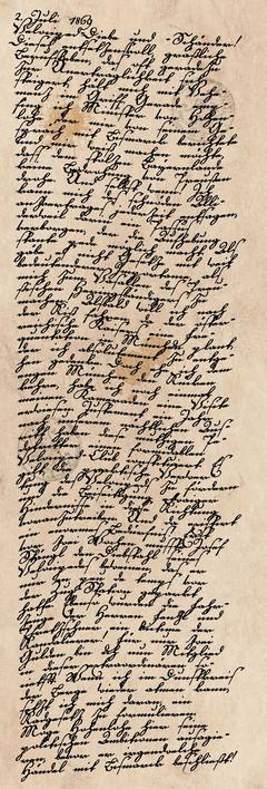 Tagebucheintrag vom 2. Juli 1869