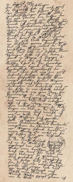 Tagebucheintrag vom 10. August 1876
