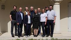 Gruppenbild des neuen Landesvorstands des ADFC Bayern