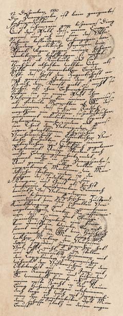 Tagebucheintrag vom 12. Dezember 1880
